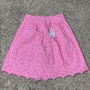 Lilly Pulitzer flower skirt